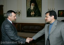 Срещи на Георги Пирински с посланици